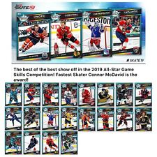 18-19 ALL STAR GAMES ASG SKILLS COMPETITION SET OF 20 Topps NHL Skate Digital