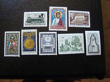 AUTRICHE - timbre - yvert et tellier n° 1079 a 1086 n** - stamp austria (A3)