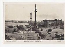 Spain, Barcelona, Puerta de la Paz RP Postcard, A599