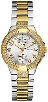 NEW** GUESS LADIES SWAROVSKI MINI PRISM GOLD WATCH- U13586L1 W15072L3 - RRP £169
