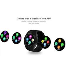 EPIC TIME-Bluetooth Smart Watch Phone Mate Round Touch Screen SIM -Android OCUS