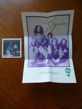 Gryphon:Midnight Mushrumps Disk Union Promo Poster & Book [Japan Mini-LP no cd Q