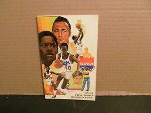 1973- 1974 NBA BASKETBALL KC OMAHA KINGS PRESS RADIO TELEVISION GUIDE