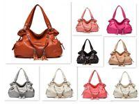 Women's Leather Handbag Shoulder Bag lady Purse Tote Messenger Satchel Crossbody
