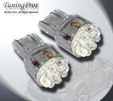 (1 Pair) Set of 2 pcs Front Signal T20 Wedge 9 Red LED Light Bulbs 7440 7443