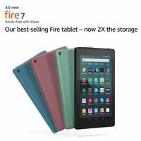 """All-New Fire 7 Tablet (7"""" display) 2019 release - 9th gen, 4 colors,16gb or 32gb"""