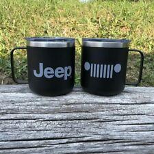 Mug - Jeep® Powder Coated Camper - Black