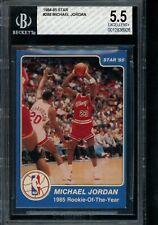 1984-85 Star #288 Michael Jordan BGS 5.5 Rookie Year