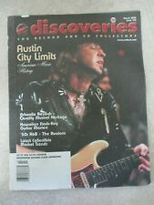 Discoveries Magazine For Record & Cd Collectors-March 2002 #166-Stevie Ray V +