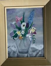 Original Oil      Painting Still Life with Flowers