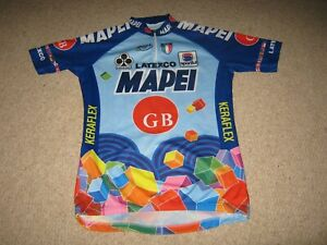 Mapei GB Colnago Sportful Italian cycling jersey [S/36 inch chest]