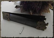 2 Fermoir clic clac 10 cm pour porte monnaie étui à lunettes Flex frame ressort