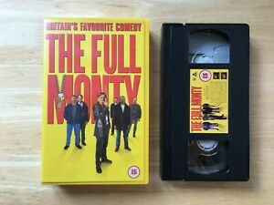 The Full Monty ~ VHS ~ VIDEO (1997) *SEE SHOP FOR OTHER VHS TAPES*