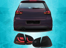 VW Golf MK5 Rear Tail Lights LED SMOKED Golf R Style 03-08