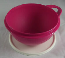 Tupperware Maximilian 1,4 l Schüssel Rührschüssel Pink Rosa / Beige Neu OVP