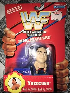 WWF RING MASTERS Yokozuna Figure From Playmates WWE WCW NWO
