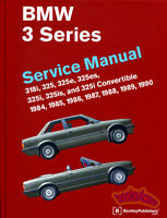 BMW E30 SHOP MANUAL SERVICE REPAIR BOOK WORKSHOP BENTLEY GUIDE 325 318