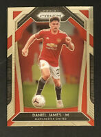 2020-21 Panini Prizm Soccer # 8 Daniel James Manchester United CENTERED & MINT!!