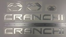 """CRANCHI boat Emblem 22.5"""" + FREE FAST delivery DHL express - stickers decal"""