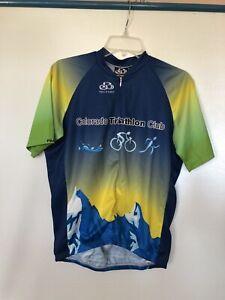Pactimo Colorado Cycling Jersey M CO Athletic club Triathlon Club