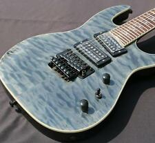 Customized High quality 7 strings electric guitar floyd rose ,4A quilted maple