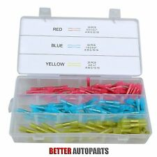 New listing 125 pcs Waterproof Wire Connectors Heat Shrink crimp Connector Kit New