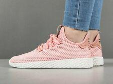 Adidas X Pharrell Williams Hu Tactil Rose Entrenador De Tenis Sin Cordones Zapatillas De Punto