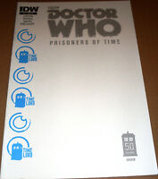 Doctor Who Prisoners of Time #11 Jetpack Blank Cover Variant IDW Dr BBC TV