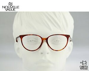 Nouvelle Vague Eliane P27, Vintage 80s tortoise cat eye glasses frames womens