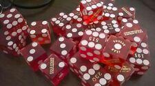 15 Wholesale LAS VEGAS AUTHENTIC CRAPS DICE TABLE USED HOTEL & CASINO BUNDLE LOT