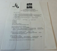 ONE TREE HILL set used STUNT SEQUENCE MEMO ~ Season 1, Episode 12