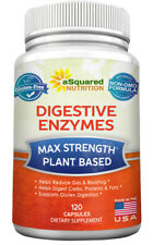 aSquared Nutrition Digestive Enzymes Supplement Cleanse - 120 Capsules