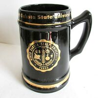 "Vintage North Dakota State University NDSU stein mug 6.5"" Fargo ND FREE SH"