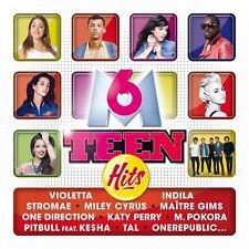 M6 teen hits 2014 CD 22T avicii,indila,vitaa,bieber,tal,gims,pokora,violetta