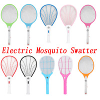 Handheld Electric Mosquito Swatter Insect Mosquito Killer Fly Bug Wasp Swatter
