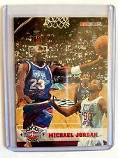 1993-94 NBA Hoops MICHAEL JORDAN All-Star 5th Anniversary #257 Chicago Bulls HOF