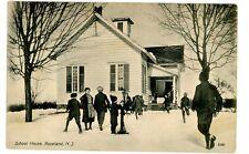Roseland NJ - SCHOOL HOUSE & WATER PUMP - Postcard near West Orange