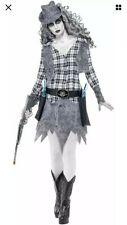 Halloween Ghost Town Cowgirl Costume (11223) by Smiffy's of Gainsborough UK 8-10