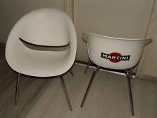 2 Chaises Fauteuil Martini Vintage 1963 - 100 ans de Martini