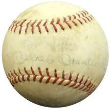 Mickey Mantle Autographed Signed Babe Ruth League Baseball Yankees PSA #I88287