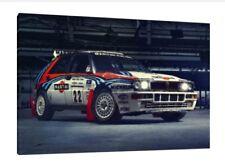 LANCIA DELTA S4 - 30x20 POLLICI a muro Art-Gruppo B Rally foto incorniciata