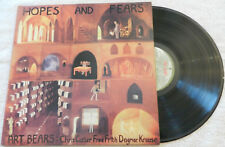 ART BEARS❖HOPES AND FEARS❖Henry Cow Fred Frith❖1st press RēR UK Vinyl LP=VG+/EX!