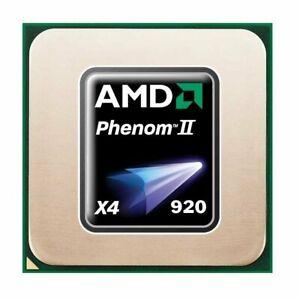 AMD Phenom II X4 920 (4x 2.80GHz) HDX920XCJ4DGI CPU Sockel AM2 AM2+   #5868