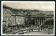 Genova : Piazza De Ferrari - cartolina non viaggiata, indicativamente primi '900