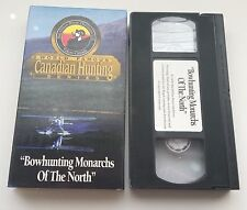 Bowhunting Monarchs of the North Canadian Moose Hunting Vhs Video 1996 Yukon
