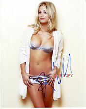 """Kaley Cuoco The Big Bang Theory Sexy Reprint Autographed 11x14"""" Poster #1 RP"""