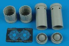 Aires 7246 1/72 F4E/F/G/J/S Phantom II Exhaust Nozzles For Fujimi