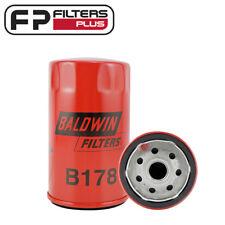 B178 USA MADE Baldwin Oil Filter LF785, P554770, 51342, Z553, Z63, WZ553, WZ63