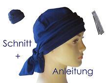 Schnittmuster+Anleitung Band-Mütze geeignet für Alopecia/Chemotherapie als Ebook