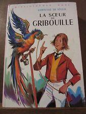 Comtesse de Ségur: La Sœur de Gribouille/ Bibliothèque Rose, 1979
